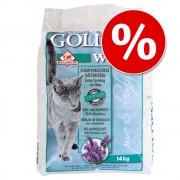 14 кг Golden White камъчета за котешка тоалетна на специална цена! - 14 кг