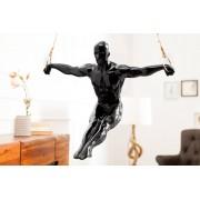 Soška Gymnast 50cm čierna