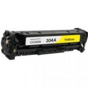 Tóner compatible para HP CC532A Amarillo (304A)