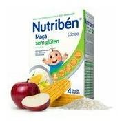 Maçã papa com leite adaptado sem gluten 300g - Nutriben