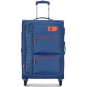 Skybags VANGUARD 4W EXP STROLLY 71 BRIGHT BLUE Expandable Check-in Luggage - 24 inch(Blue)