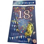 """Zászló fűzér, évszámos """"18"""""""