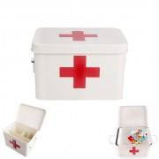Cutie din tabla pentru depozitare medicamente