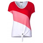 STREET ONE Color Block Shirt Ramona - blossom pink