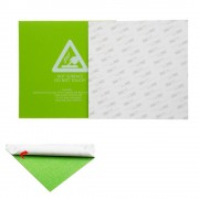 Meco 300*300*0.5mm Green Frosted Heated Bed Sticker Build Plate Tape With 3M Backing For 3D Printer