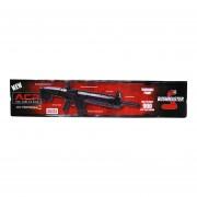 Rifle Metralleta Bombeo 4.5 Bbs Carriles Picatinny Crosman