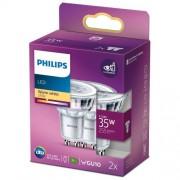 Philips 2-pack LED GU10 Spot 35W 255lm