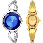 TRUE CHOICE NEW PACK 2 BEAUTIFUL WEDDING LOOK WATCHES FOR GIRLS WITH 6 MONTH WARRANTY