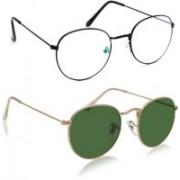 Phenomenal Oval Sunglasses(Multicolor)