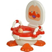 Panda Creation Duck Potty seat Trainer for Baby with Removable Bowl & Closable Cover