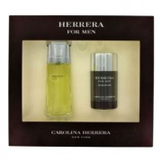Carolina Herrera 3.4 oz / 100 mL Eau De Toilette Spray + 2.5 oz / 74 mL Deodorant Stick Gift Set Men's Fragrance 461423