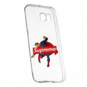Husa de protectie Supreme Superman Samsung Galaxy S6 Edge rez. la uzura Silicon 259