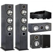 Pachete PROMO SURROUND - Monitor Audio - Bronze 6 pachet 5.0 + Yamaha RX-V685 Walnut
