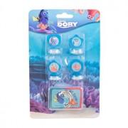 Set 4 stampile cu tusiera Dory