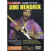 Roadrock International Lick library - Jimi Hendrix Learn to play (Guitar), DVD