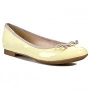 Балеринки CLARKS - Carousel Ride 261069934 Pale Yellow Pat