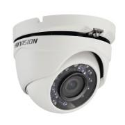 Cámara eyeball TurboHD 1080P Hikvision, gran angular 103° / lente 2.8mm / 20mts IR inteligente/exterior IP66, DS-2CE56D0T-IRM