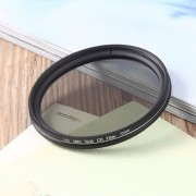 EB Super Thin 49/52/55/58/62/67/72 / 77MM Cámara Circular Impermeable CPL Len Filter-Silver