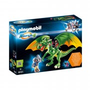 Playmobil Super 4 Kingsland Dragon with Alex and LED Fire Effects (9001)