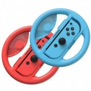 Baseus 2x set car wheel handle for Joy-Con joystick pad la Nintendo Switch red si blue (GMSWB-93)