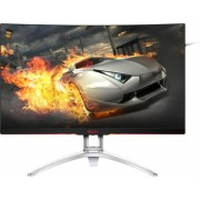 "AOC Gaming AG322QCX 31.5"" Quad HD LED Curva Negro, Plata pantalla para PC"