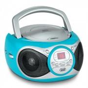 CD 512 CD MP3 Player Rádio AM/ FM AUX turquesa