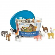 Set 60 Figurine Animale de la ferma Learning Resources