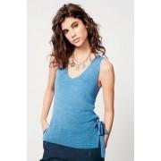 Womens Next Eyelet Vest - Blue