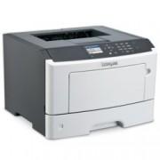 Лазерен принтер Lexmark MS417dn, монохромен, 1200 x 1200 dpi, До 38 стр/мин, LAN1000, USB, А4