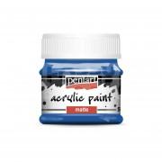 Pentart Matt kék színű akril bázisú hobbi festék 50 ml