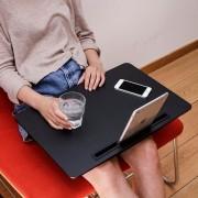 Kikkerland XL iBed tablethouder - Zwart