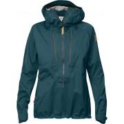 FjallRaven Keb Eco-Shell Anorak W - Glacier Green - Vestes de Pluie XL