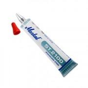 Маркер в туба, ролер, за неръждаема стомана, ST2100, RED, червен, 3 mm, 10 бр./оп., 10230323, MARKAL