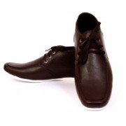 Sam Stefy Broad Shaped Casuals Shoes For Men(Brown)