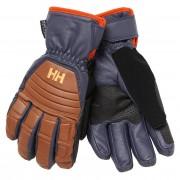 Helly Hansen Mens Ullr Leather Ht Glove Brown S