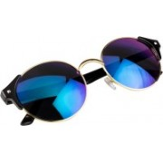 NuVew Round Sunglasses(Green, Blue)
