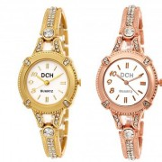 Dch Round Dial Multi Analog Watch Combos For Women-Gw-3