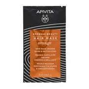 Máscara capilar brilho & revitalizante de laranja 20ml - Apivita