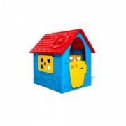 Casuta de joaca, albastra, 106x38x90cm