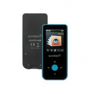 Reprod. Mp4 Bluetooth Sunstech Celeste4gbbl Azul 4 Gb
