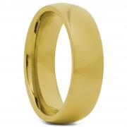 Fort Tempus Gouden 6mm Stalen Ring