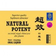 Natural potent 10ml 6buc NATURALIA DIET