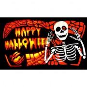 Merkloos Halloween vlag Happy Halloween