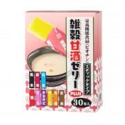 雑穀甘酒ゼリープラス 30包【QVC】40代・50代レディースファッション