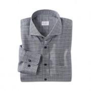 Dorani glencheck-overhemd, 42 cm - zwart/wit