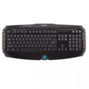 Клавиатура Zalman ZM-K300M, мултимедийна, USB
