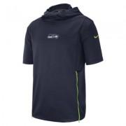 Мужская футболка с коротким рукавом и капюшоном Nike Dri-FIT Therma (NFL Seahawks)