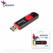 Memoria USB Flash Drive 16GB Adata Negro Rojo