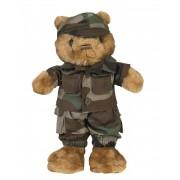 Obleček pro malého plyšového medvídka - woodland