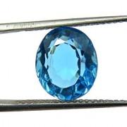 3.95 Ratti Best quality Blue Topaz stone Lab Certified